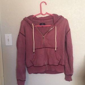 American Eagle Zipped Sweatshirt